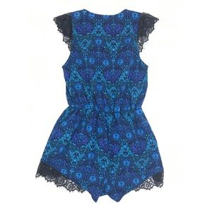 Urban Outfitters Pants - Urban Outfitters Kimchi Blue Lace Inset Romper